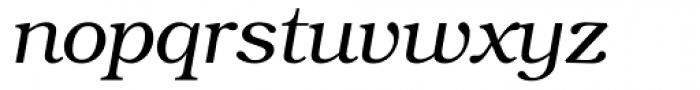 ITC Bookman Light Italic Font LOWERCASE