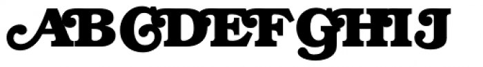 ITC Bookman Swash Bold Font UPPERCASE