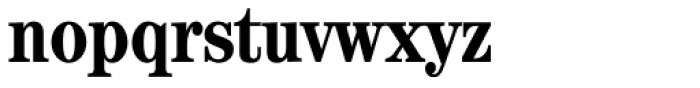 ITC Century Cond Bold Font LOWERCASE
