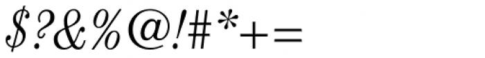 ITC Century Cond Light Italic Font OTHER CHARS