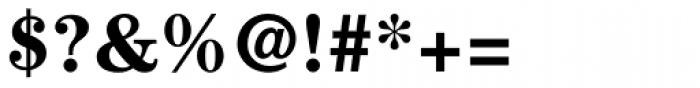 ITC Century Std Bold Font OTHER CHARS