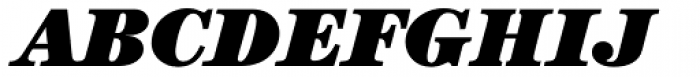 ITC Century Std Ultra Italic Font UPPERCASE
