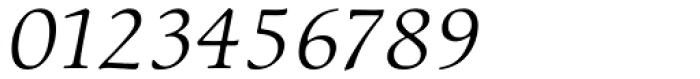 ITC Cerigo Book SwCap Italic Font OTHER CHARS