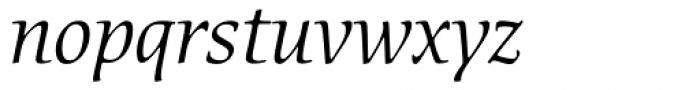 ITC Cerigo Book SwCap Italic Font LOWERCASE