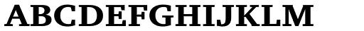 ITC Charter Bold SC Font LOWERCASE