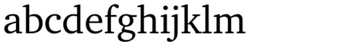 ITC Charter Regular Font LOWERCASE