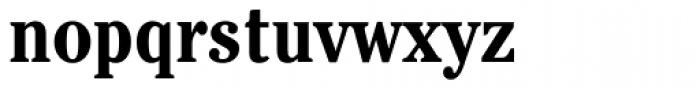 ITC Cheltenham Condensed Bold Font LOWERCASE