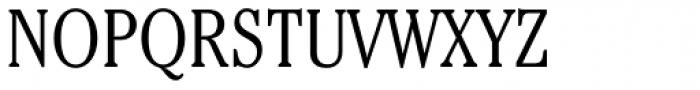 ITC Cheltenham Std Condensed Light Font UPPERCASE