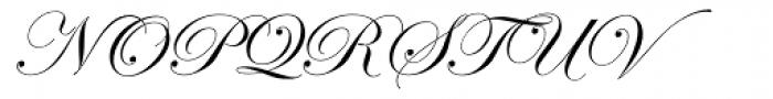 ITC Edwardian Script Regular Alt Font UPPERCASE