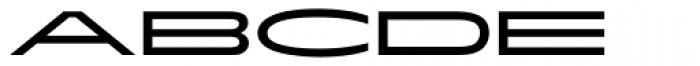 ITC Flatiron Font UPPERCASE
