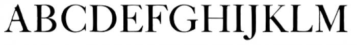 ITC Founders Caslon 42 Roman Font UPPERCASE