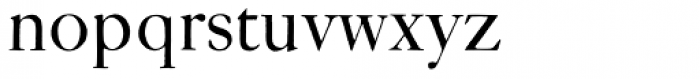 ITC Founders Caslon 42 Roman Font LOWERCASE