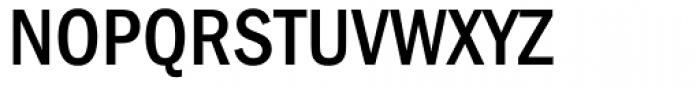 ITC Franklin Gothic Condensed Medium SC Font UPPERCASE