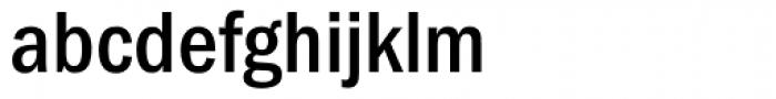 ITC Franklin Gothic Condensed Medium Font LOWERCASE