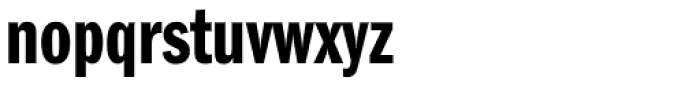 ITC Franklin Gothic Demi Compressed Font LOWERCASE