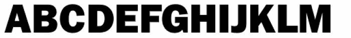 ITC Franklin Gothic Heavy Font UPPERCASE