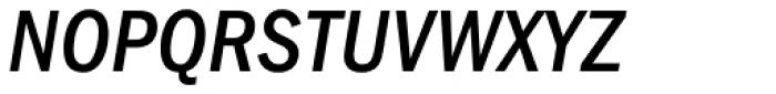 ITC Franklin Gothic Medium Condensed Italic Font UPPERCASE