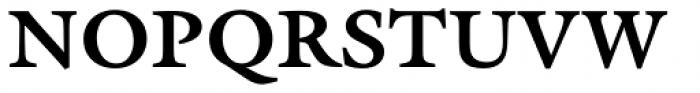 ITC Galliard eText Std Bold Font UPPERCASE