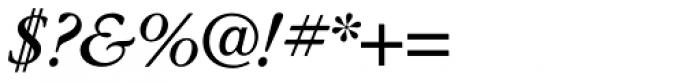ITC Garamond Book Italic Font OTHER CHARS