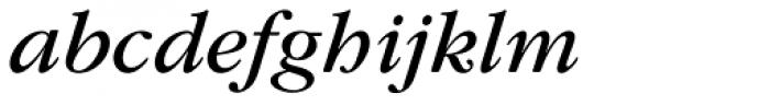 ITC Garamond Book Italic Font LOWERCASE