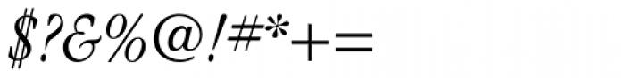 ITC Garamond Cond Light Italic Font OTHER CHARS