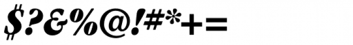 ITC Garamond Cond Ultra Italic Font OTHER CHARS