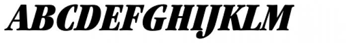 ITC Garamond Cond Ultra Italic Font UPPERCASE