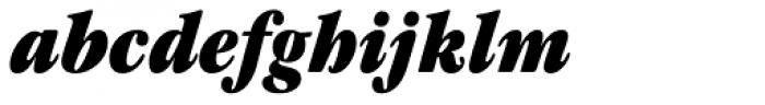 ITC Garamond Cond Ultra Italic Font LOWERCASE