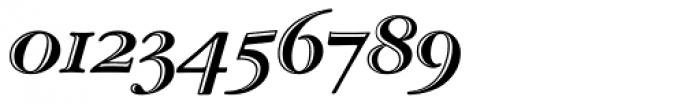 ITC Garamond Handtooled OS Italic Font OTHER CHARS