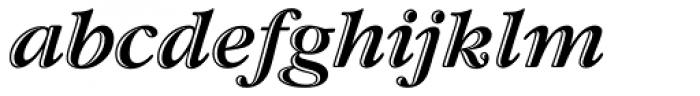 ITC Garamond Handtooled OS Italic Font LOWERCASE