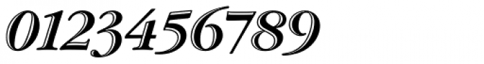 ITC Garamond Handtooled Std Bold Italic Font OTHER CHARS