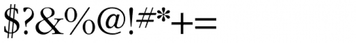 ITC Garamond Light Font OTHER CHARS