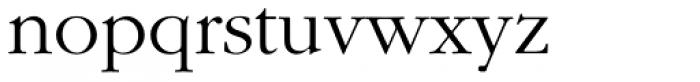 ITC Garamond Light Font LOWERCASE