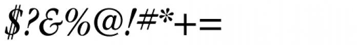 ITC Garamond Narrow Book Italic Font OTHER CHARS