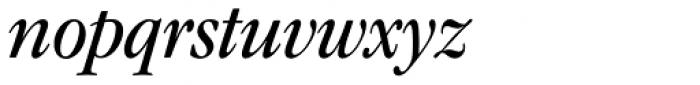 ITC Garamond Narrow Book Italic Font LOWERCASE