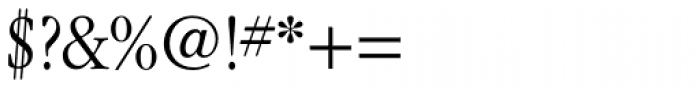 ITC Garamond Narrow Light Font OTHER CHARS