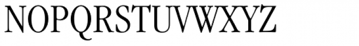 ITC Garamond Narrow Light Font UPPERCASE