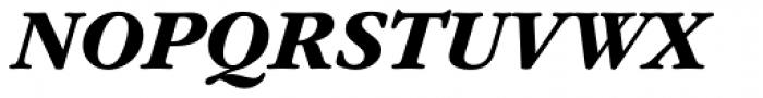 ITC Garamond Std Bold Italic Font UPPERCASE
