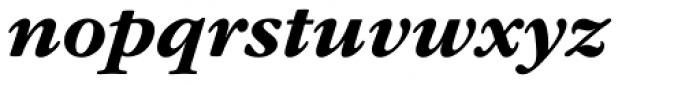 ITC Garamond Std Bold Italic Font LOWERCASE
