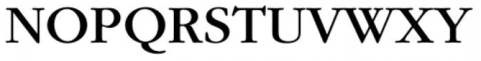 ITC Garamond Std Book Font UPPERCASE