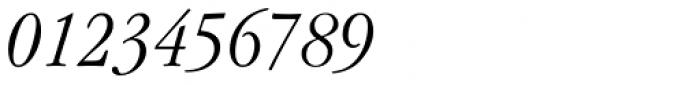 ITC Garamond Std Light Condensed Italic Font OTHER CHARS