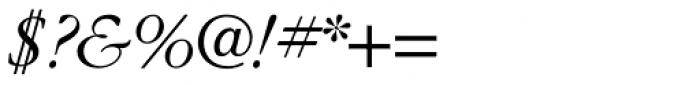 ITC Garamond Std Light Italic Font OTHER CHARS