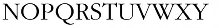 ITC Garamond Std Light Font UPPERCASE