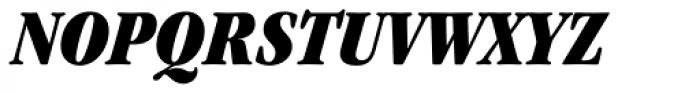 ITC Garamond Std Ultra Condensed Italic Font UPPERCASE