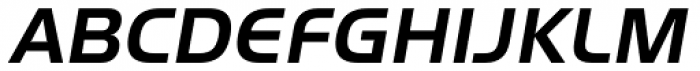 ITC Handel Gothic Pro Bold Italic Font UPPERCASE