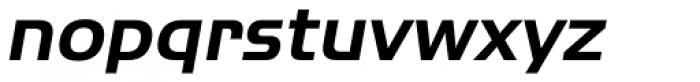 ITC Handel Gothic Pro Bold Italic Font LOWERCASE