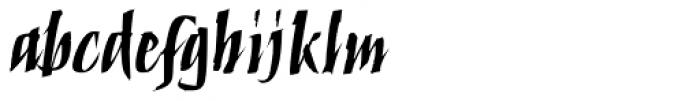 ITC Humana Script Bold Font LOWERCASE