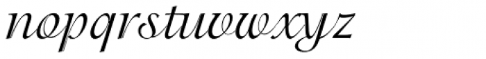 ITC Isadora Regular Font LOWERCASE