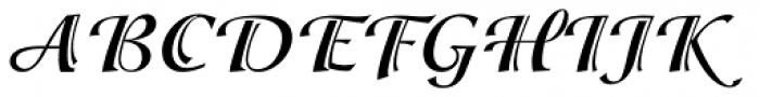 ITC Isadora Std Bold Font UPPERCASE