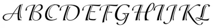 ITC Isadora Font UPPERCASE